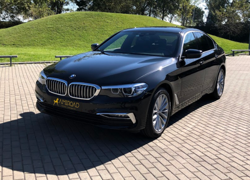 bmw 5 series private transports