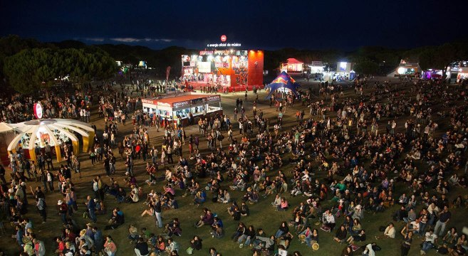 Super Bock Super Rock Music Festival in Meco-Portugal