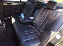 bmw 5 series interiors - private fleet in lisbon