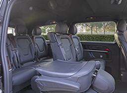 new fleet-mercedes mini van interiors